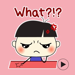 Bad Boy - Super Cute Emoji GIF