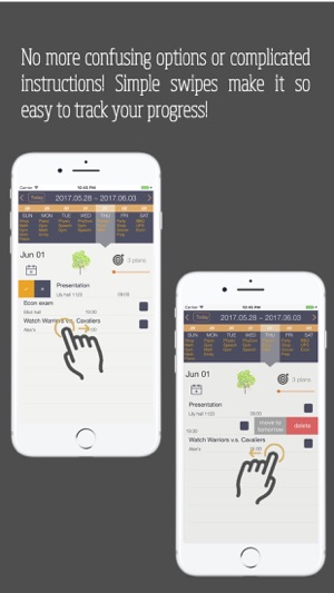 Planett: Simple daily & weekly todo list / planner Screenshot