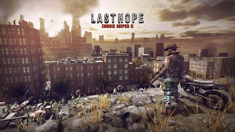 Last Hope Sniper - Zombie War screenshot-5