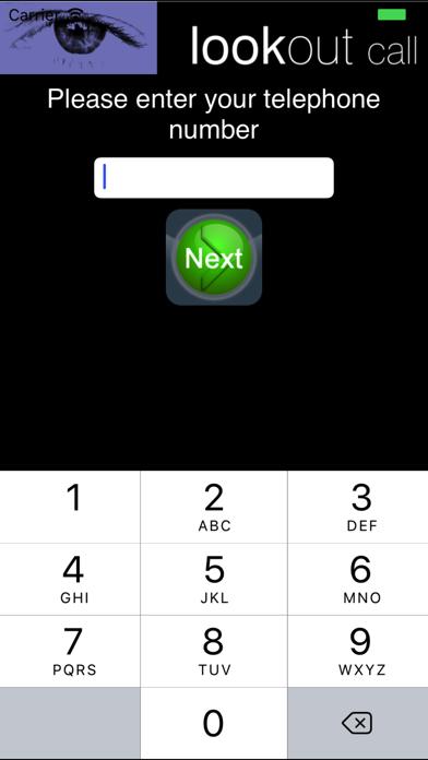 LookOut Call screenshot two