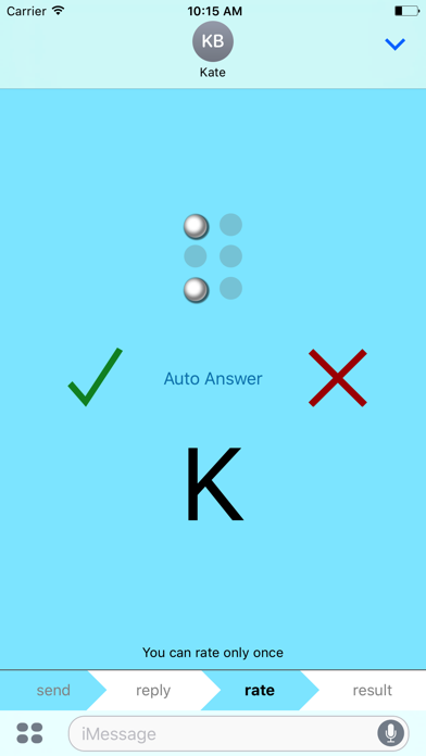 Send Braille screenshot three