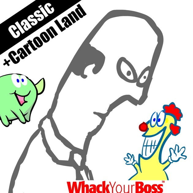 Whack Your Boss Cartoon Land on the App Store