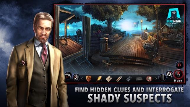 Adam Wolfe: мрачный мистический детектив Screenshot