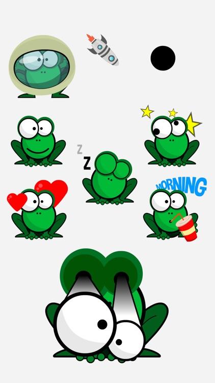 Pop Frogs Stickers screenshot-4