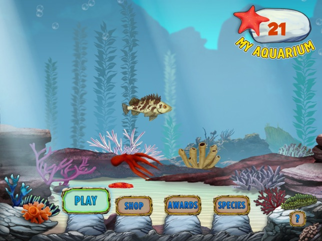 ‎The Kelp Forest: My Aquarium Screenshot