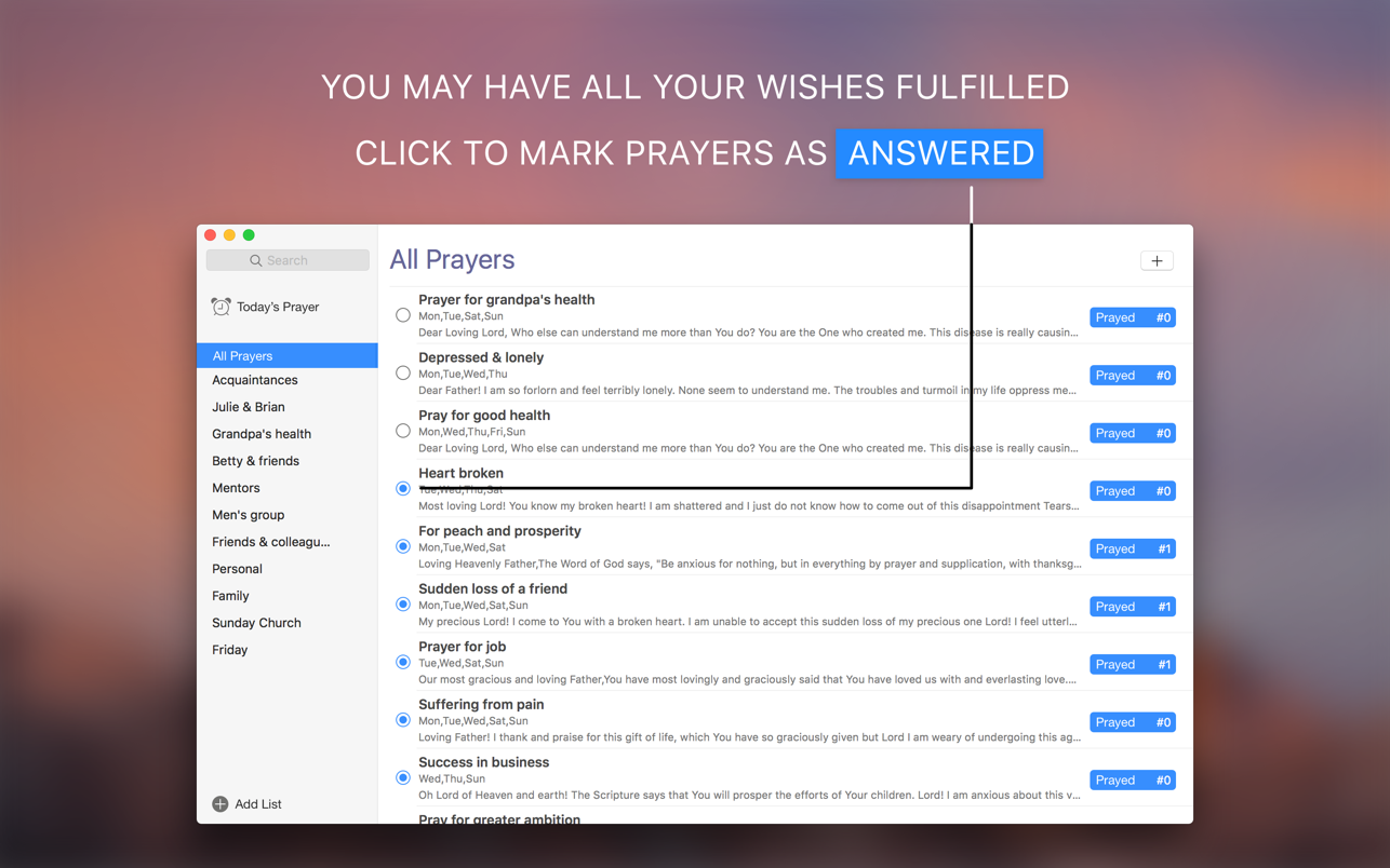 Prayer Scrapbook