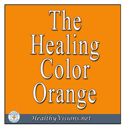Healing Color Of Orange for iPad