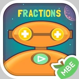 Robo Math Fractions