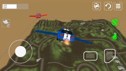 Flying Car Driving Simulator 3Dのおすすめ画像3
