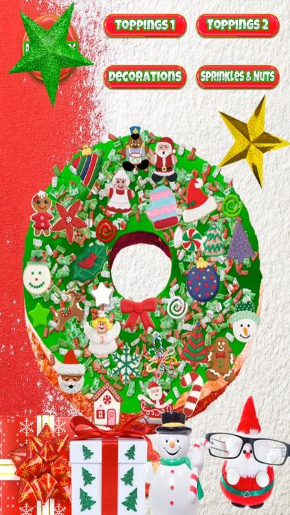 Christmas Donut Maker - Dessert Cooking Baker Game