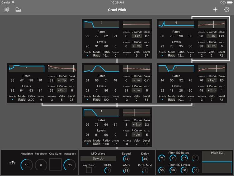 Patch Touch: for Yamaha DX/TX screenshot-1