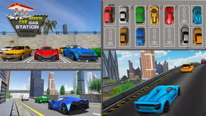 スポーツカーガソリンスタンド駐車場 - 高速道路運転のおすすめ画像5