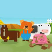 农场小镇 - 牧场游戏