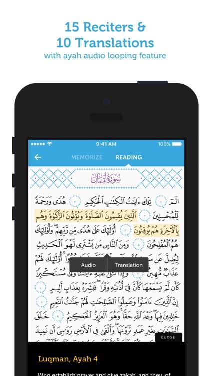 Quran Companion-Memorize Quran screenshot-4