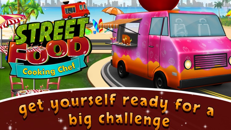Street Food Cooking Chef Story app image