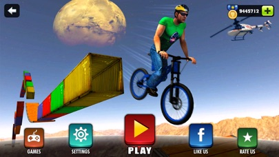 Impossible BMX Bicycle Stunt Rider screenshot one