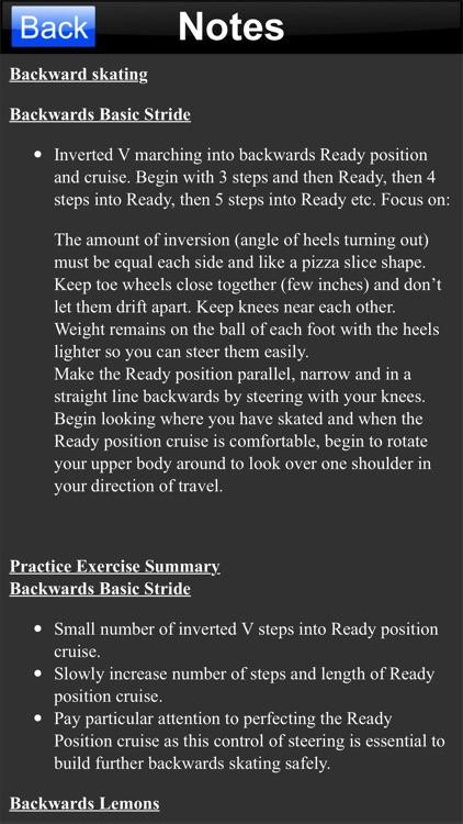 Skate Lessons Intermediate screenshot-4