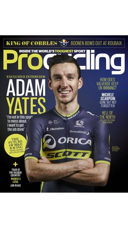 Pro cycling: professional road racing magazine