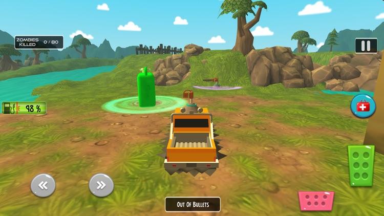 Zombie Safari Adventure – Offroad Survival Game screenshot-3