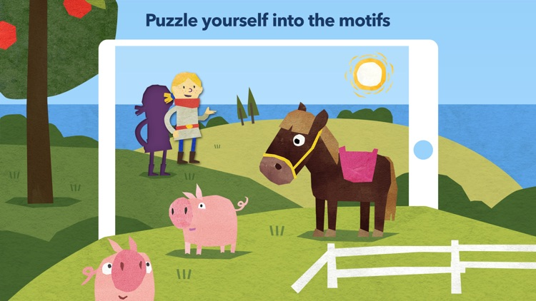 Fiete Puzzle - Learning games screenshot-0