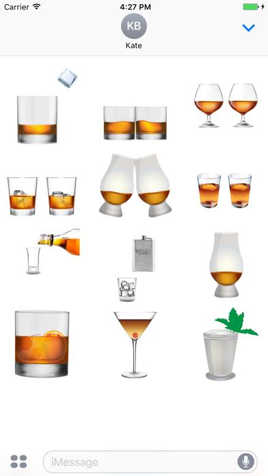 Whisky Advocate Stickers Screenshot