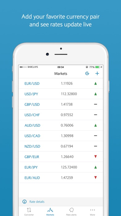 FX Currency powered by Barclays screenshot three
