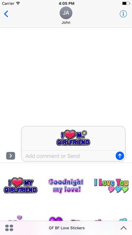 Animated Girlfriend & Boyfriend Love GIF Stickers screenshot-4