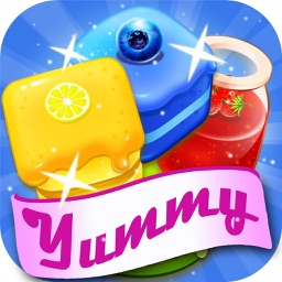 Yummy Crush Mania - Jelly Quest Match 3 Games