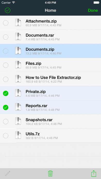 File Extractor per archivi ZIP, RAR, 7-ZIP e TAR