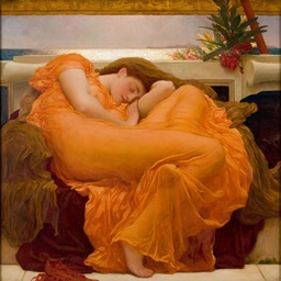 Frederic Leighton Artworks Stickers