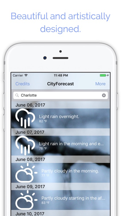 CityForecast - Weekly Weather Forecasts screenshot-4