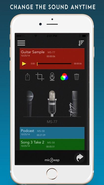 MicSwap Pro: Microphone Emulator And Recorder screenshot-3