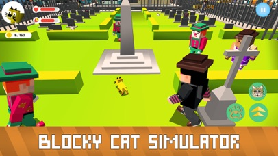 Blocky Cat Simulator screenshot 3