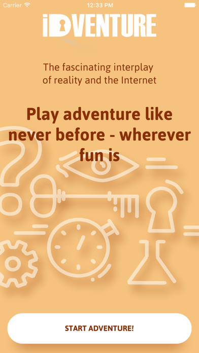 iDventure screenshot one