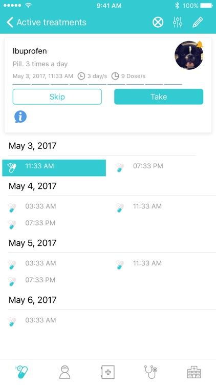 GetWell: Multi-patient treatment tracker
