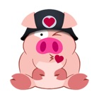 Cute Piggy Commando Stickers stickers by CandyASS icon