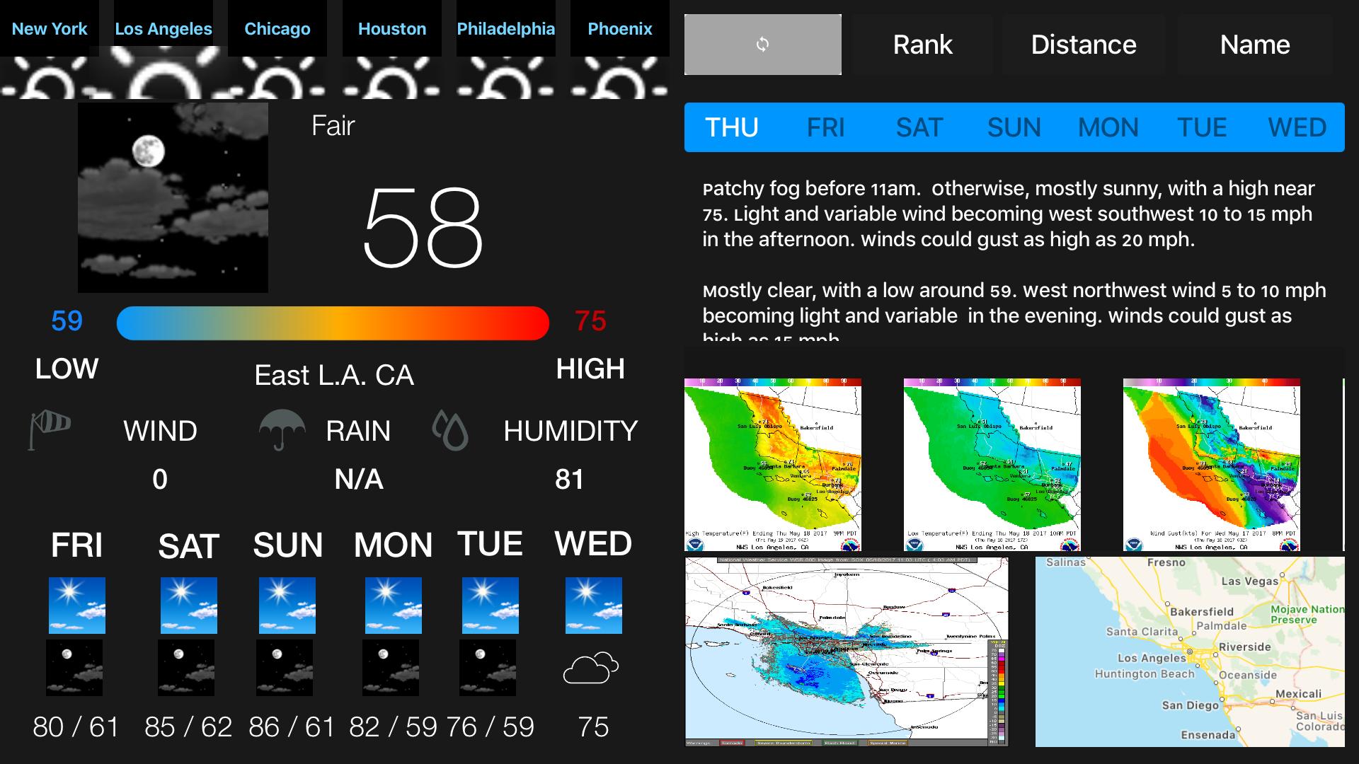Instant NOAA Weather Forecast Pro screenshot 3