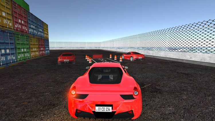 Multi Track Car Parking Simulator