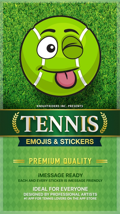 TennisMoji - tennis emoji & stickers