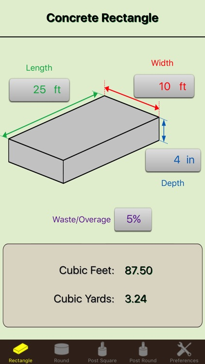 Concrete Calc Elite - Cement Calculator Masonry