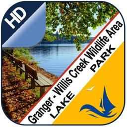 Granger - Willis Creek offline lake & park trails