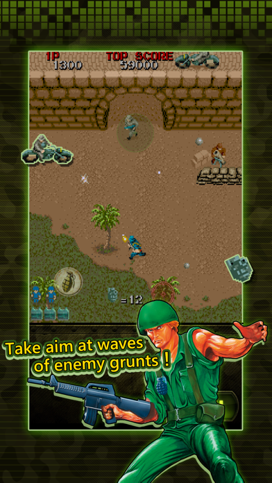 Wolf of the Battlefield : Commando MOBILE screenshot 2