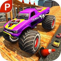 City Climb Monster Truck Hard Parking Simulator 3D