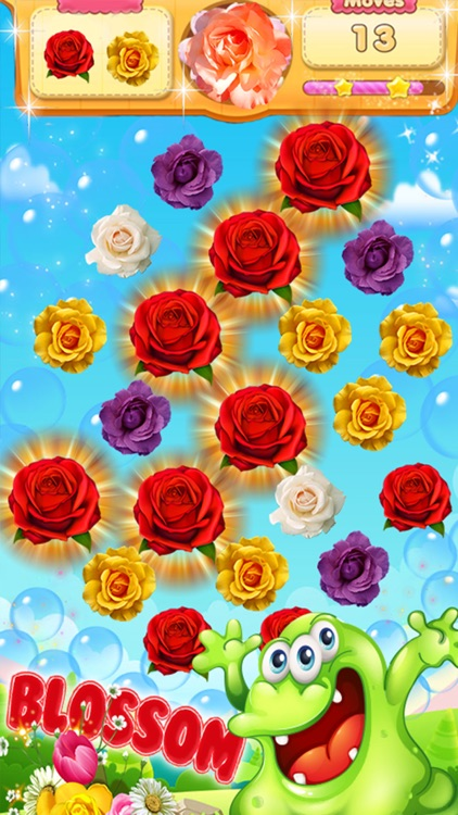 Blossom Crush Paradise screenshot-1