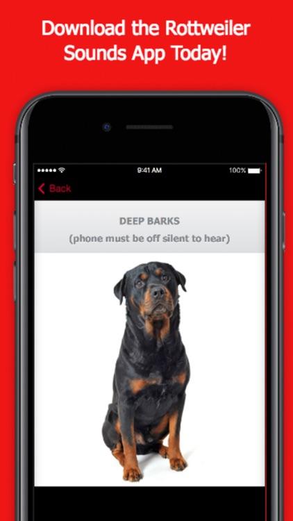 Rottweiler Dog Sounds & Barking App screenshot-3