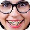 对牙齿括号 - 图片编辑器,正畸