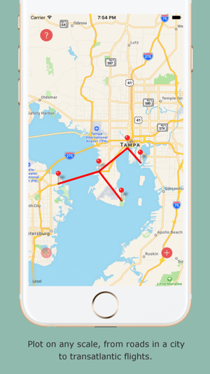 Traveli a portable push pin map for your travels on the app store gumiabroncs Images