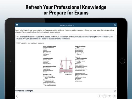 Merck Manual Professional Screenshots