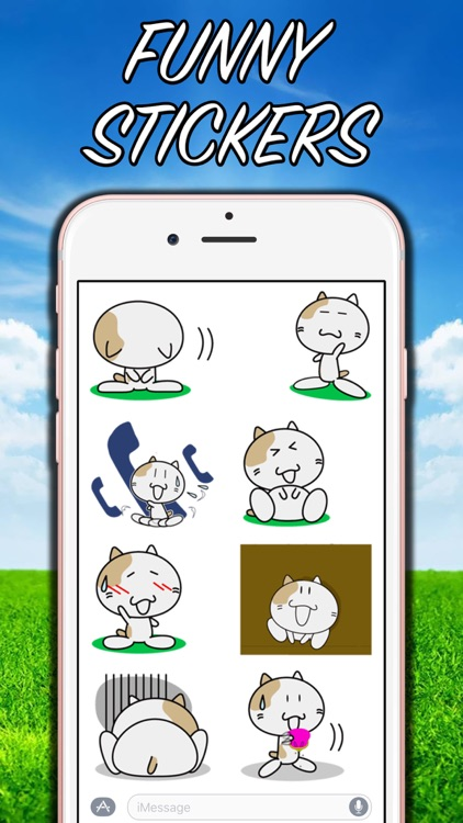 Anime Cat - New Stickers! screenshot-4