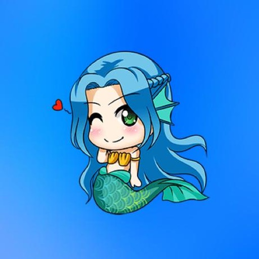 MermaidMojis - Mermaid Emoji And Stickers